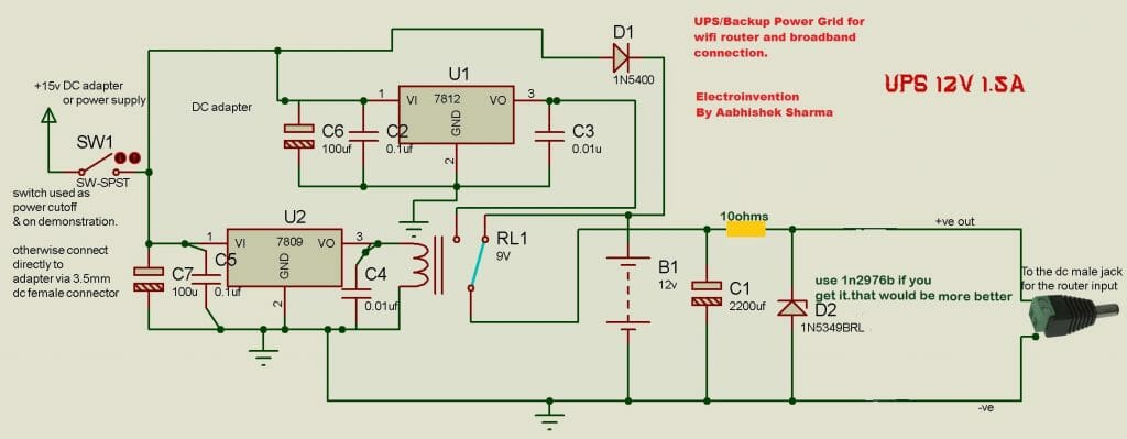 ups power grid for wifi