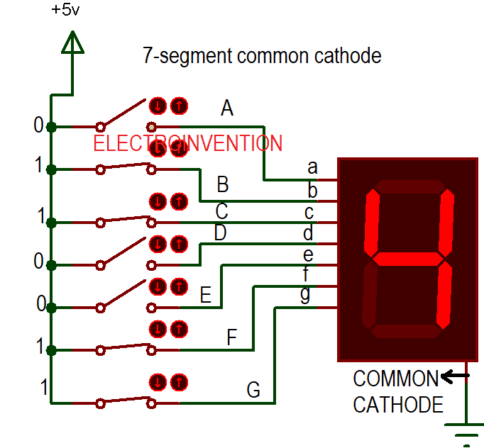 Visitor counter circuit