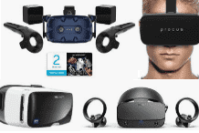 VR console headsets