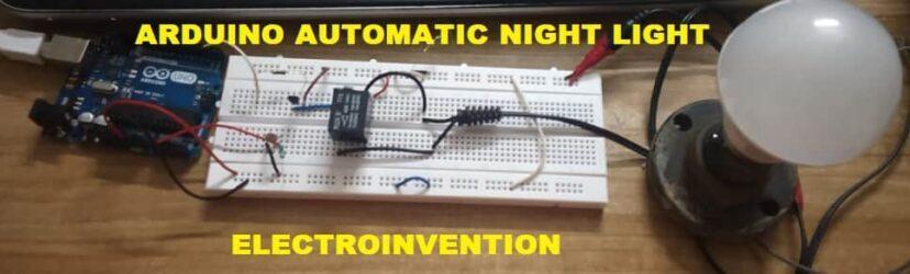 arduino automatic night light